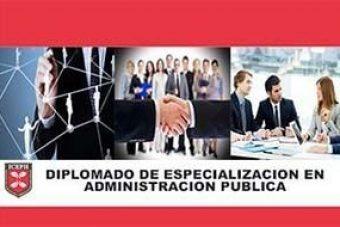 2.-Diplomado de Especialización en Administración publica